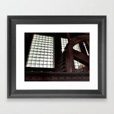 Myosin Framed Art Print