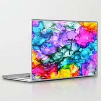 indie Laptop & iPad Skins featuring Indie Chic by Claire Day