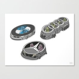 car logos 01 Canvas Print