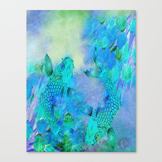 KOI UNDERWATER ADVENTURE Canvas Print