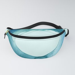 Serenity Enso No. 1 by Kathy Morton Stanion Fanny Pack