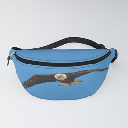 Eagle In Flight - Alaska Fanny Pack
