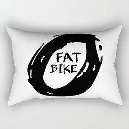 Fat Bike Rectangular Pillow
