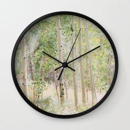 The Aspen Grove Wall Clock