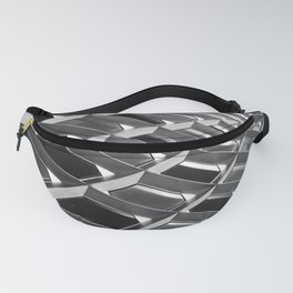 Abstract Steel Building Pittsburgh Modern Art Fanny Pack