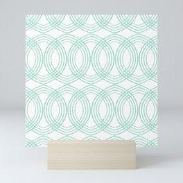 Celtic Arrow White Mini Art Print