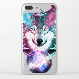 Wolf Vision Clear iPhone Case