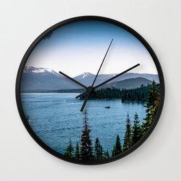 A Beautiful Background Wall Clock