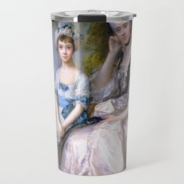 "Thomas Gainsborough ""Hester, Countess of Sussex, and Her Daughter, Lady Barbara Yelverton"" Travel Mug"