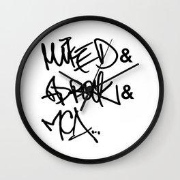 Those Rapping Boys... Wall Clock