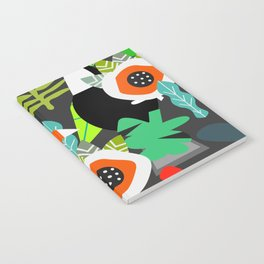 Tropical vibe with toucans Notebook