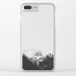 THE MOUNTAINS XV / Austria Clear iPhone Case