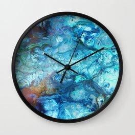 Blue Souls Wall Clock