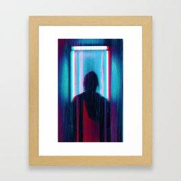 anaglych_30 Framed Art Print