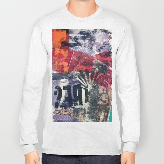 COLLAGE4 Long Sleeve T-shirt