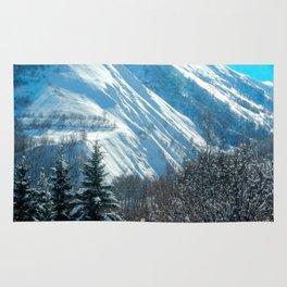 Bright Alpine View Rug