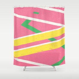 Hoverboard Shower Curtain