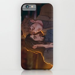 tired, lonely nights 1 iPhone Case
