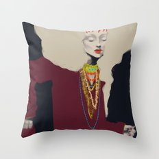 Style Experiment Throw Pillow