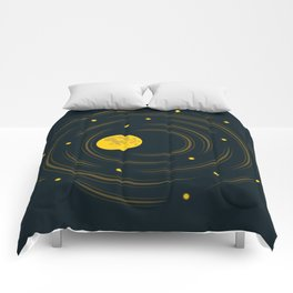Moon And Stars Dream Comforters