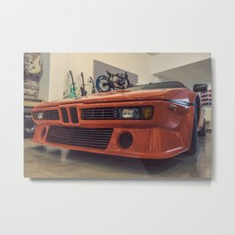 Cars and Guitars Metal Print