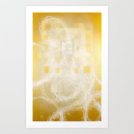 And Then I Found You Hiding In Plain Sight Art Print