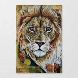 Beauty Lion Canvas Print
