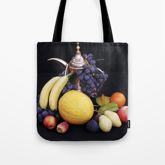 FORBIDDEN FRUITS - Oriental Still Life Tote Bag