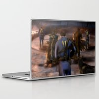 fallout Laptop & iPad Skins featuring Fallout Tribute by Hetty's Art