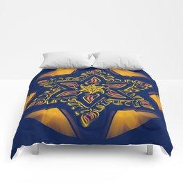 Hanukkah Star of David - 2 Comforters