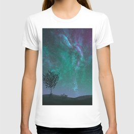 Under The Sky Full Of Stars, I'd Still Stare At You T-shirt
