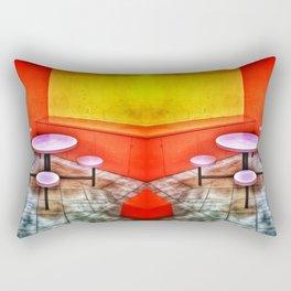 The Waiting Room Rectangular Pillow