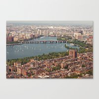 boston Canvas Prints featuring boston by shannonblue