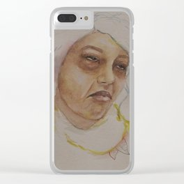 Finals Week Clear iPhone Case