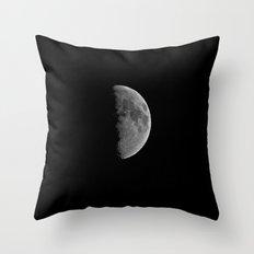 Just Half Throw Pillow