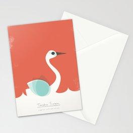 Tundra Swan Stationery Cards