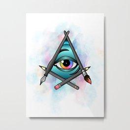 Creative Eye Metal Print