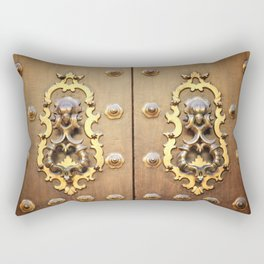 The Gate Rectangular Pillow