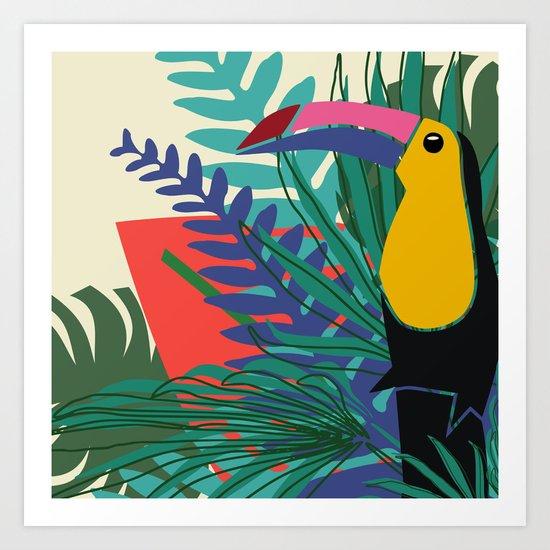 Toucan Art Print
