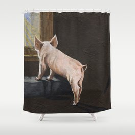 Free Me Shower Curtain