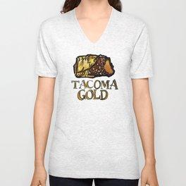 Tacoma Gold Unisex V-Neck