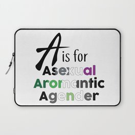 A is for Laptop Sleeve