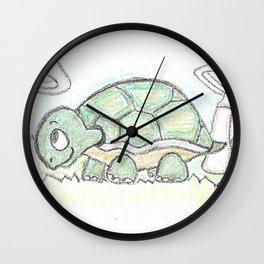 Turtle 2 Wall Clock
