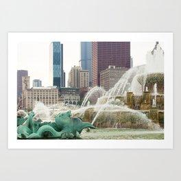 Buckingham Fountain - Chicago Photography Art Print