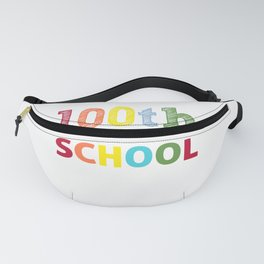100 days smarter - funny school print - perfect present Fanny Pack