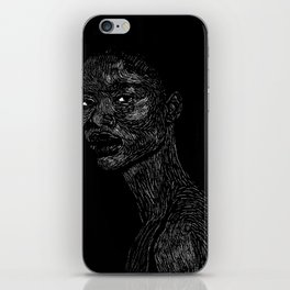 Black Girl #2 iPhone Skin