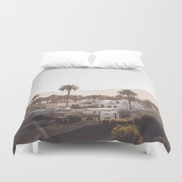 The village Duvet Cover