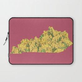 Kentucky in Flowers Laptop Sleeve