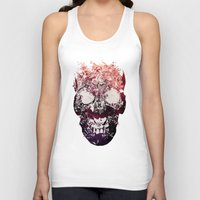murray Tank Tops featuring SKULL by Ali GULEC