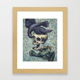 Bowerbirds Framed Art Print